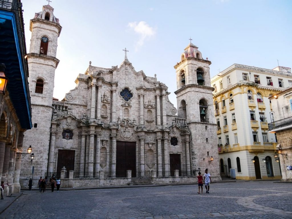 La Habana Vieja - Catedral de San Cristóbal de La Habana