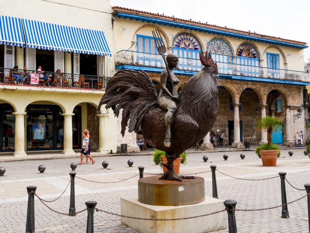 La Habana Vieja - Plaza Vieja - copie