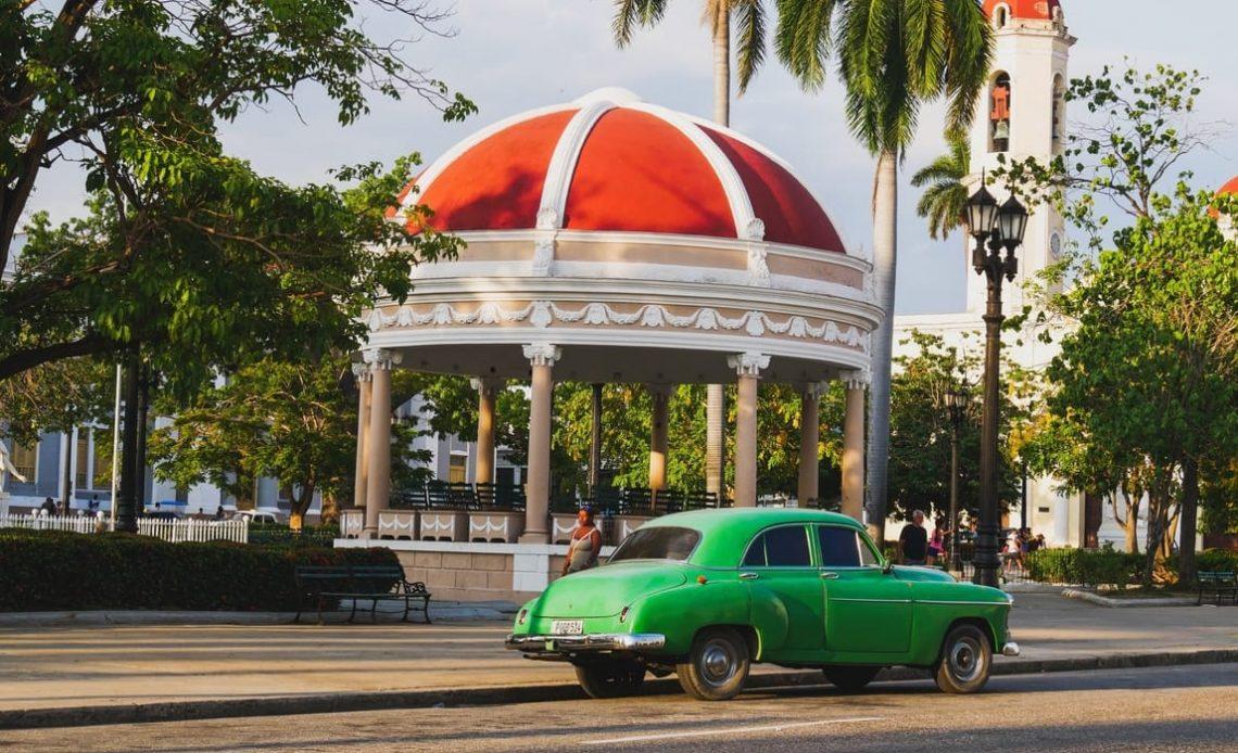 Parque Marti Cienfuegos